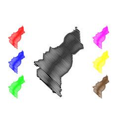 Dosso region regions niger republic the vector