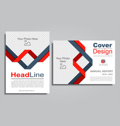 Flyers report brochure cover book portfolio design vector