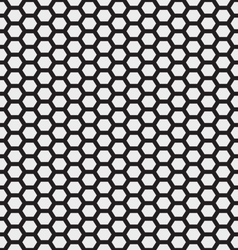 honeycomb seamless pattern vector image