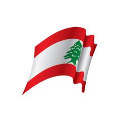 Lebanese flag vector