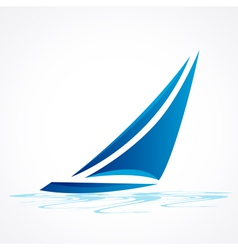 Sailboat vector