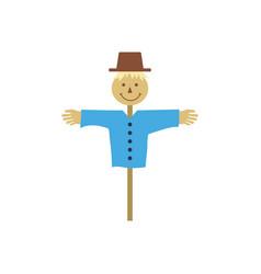 scarecrow icon vector image