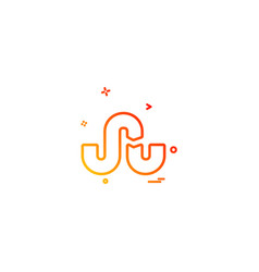 Stumbleupon icon design vector