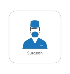 Susgeon Icon Flat Design vector image vector image