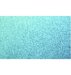 blue dotted halftone background vector image vector image