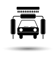 car wash icon vector image