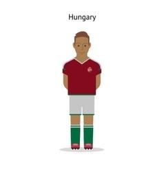 Football kit Hungary vector