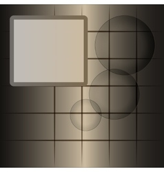 Gray-brown abstract background with space for test vector