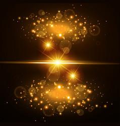 Light effect glow vector