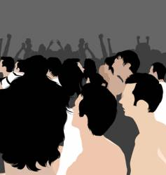party people vector image