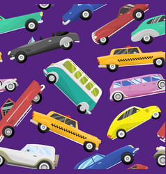 retro vintage old style car vehicle vector image