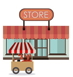 Small business design vector image