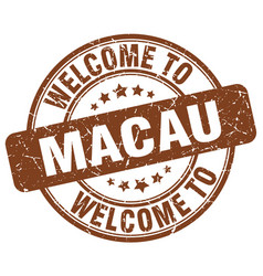 Welcome to macau vector