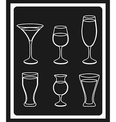 Wine cover vector