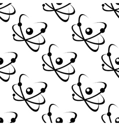 Science or educational seamless pattern vector image