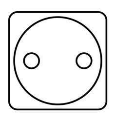 Electric plug vector