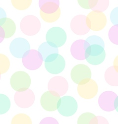 Pastel trendy colors abstract pattern vector image