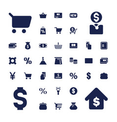Buy icons vector