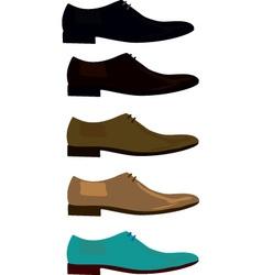 Man shoe vector