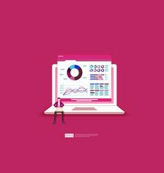 Monitoring and analysis report statistics vector