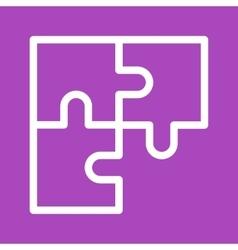 Solve Puzzle vector