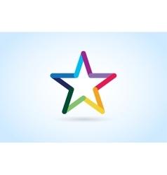 Star logo icon leader boss vector