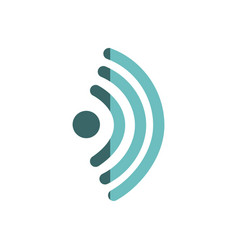 Wifi signal connection icon vector