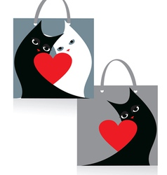 package cats vector image vector image