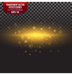 Transparent Effects Series Easy vector image vector image