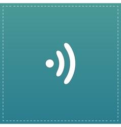 Wireless Icon Flat design style vector image