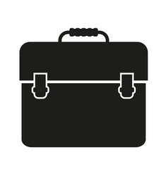 portfolio sign black icon on vector image vector image