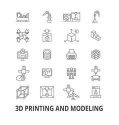 3d printing model graphics prototype modeling vector image