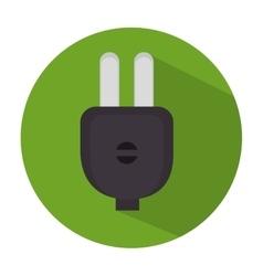 energy plug isolated icon vector image