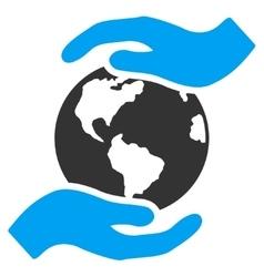International Care Icon vector image