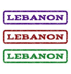 Lebanon watermark stamp vector