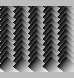 Overlapping standing rectangles monochrome vector