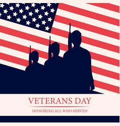 Veterans day 11th november vector