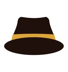 Hat accessory icon vector