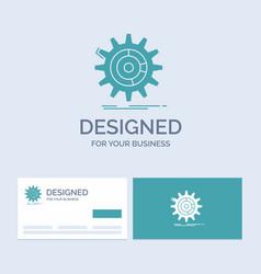setting data management process progress business vector image