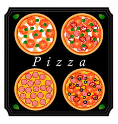 The pizza vector