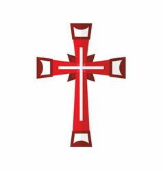 cross of the lord and savior jesus christ vector image