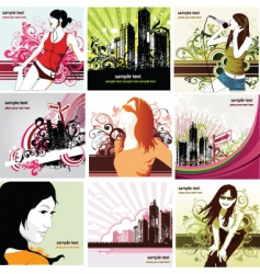 urban living vector image