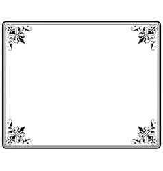 frame magasin 4 vector image vector image