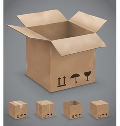 Boxes box vector image