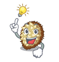 Have an idea fruit marang is located in mascot vector