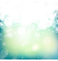 Lights On Blue Background EPS 10 vector image