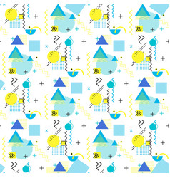 pattern geometric shapes stripes and zigzags vector image