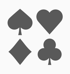 play card icon vector image