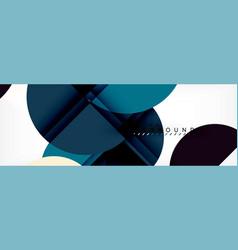 Semi circle abstract background modern geometric vector