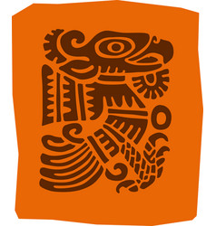 totem indians south america vector image